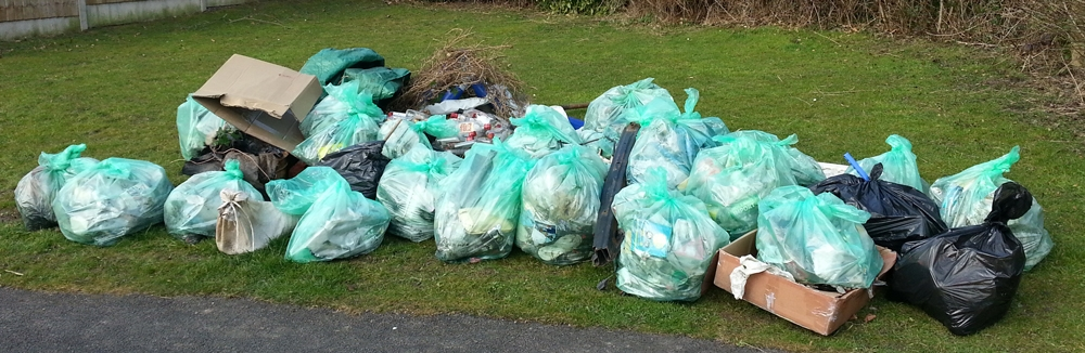 The Rubbish Collected