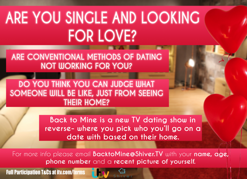 ITV New Dating Show from Shiver