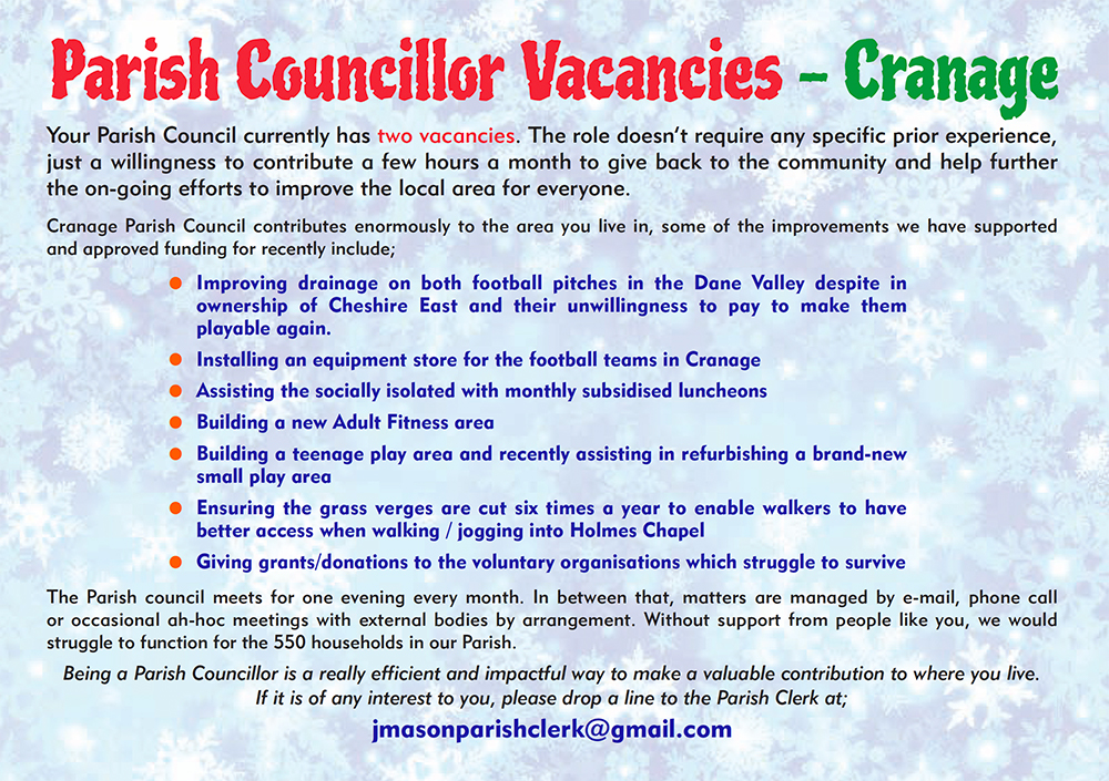 Vacancy for Councillor