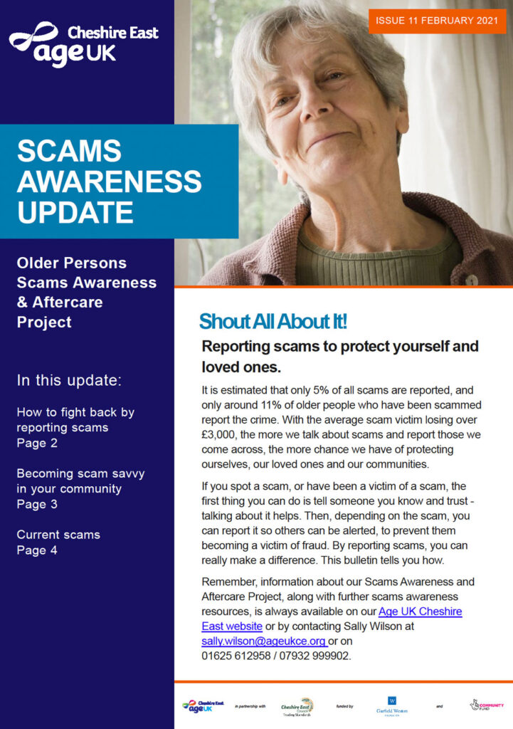 AgeUK Scams